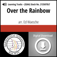 Over the Rainbow (SSAA) (arr. Waesche) - Digital Learning Tracks for 213506