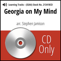 Georgia on My Mind (SSAA) (arr. Jamison) - CD Learning Tracks for 213417