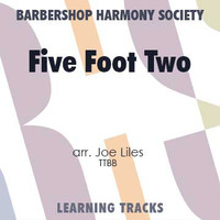 Five Foot Two, Eyes of Blue (Has Anybody Seen My Girl?) (TTBB) (arr. Liles) - CD Learning Tracks for 212679