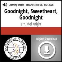 Goodnight, Sweetheart, Goodnight (SSAA) (arr. Knight) - Digital Learning Tracks for 213424