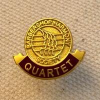 Quartet Lapel Pin