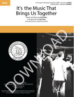 It's the Music That Brings Us Together (SATB) (arr. Hine) - Download