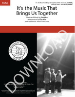 It's the Music That Brings Us Together (SSAA) (arr. Hine) - Download