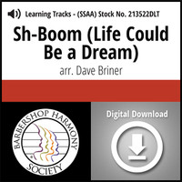 Sh-Boom (Life Could Be a Dream) (SSAA) (arr. Briner) - Digital Learning Tracks  for 213521