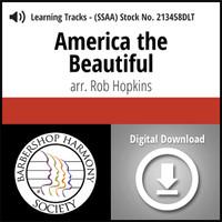 America the Beautiful (SSAA) (arr. Hopkins) - Digital Tracks for 213457