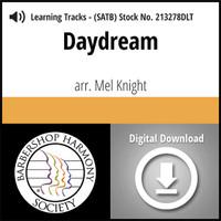 Daydream (SATB) (arr. Knight) - Digital Tracks for 213277