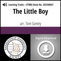 The Little Boy (TTBB) (arr. Gentry) - Digital Learning Tracks for 203127