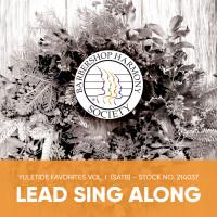 Yuletide Favorites Vol. I (SATB) - Lead Sing Along Tracks - (Full Mix minus Lead) for 214024