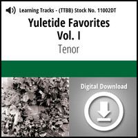 Yuletide Favorites Vol. I (Tenor) - CD Learning Tracks for 210860