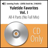 Yuletide Favorites Vol. I (SATB) Learning CD Kit  (All 4 Parts) (No Full Mix) for 214024