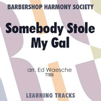 Somebody Stole My Gal (TTBB) (arr. Waesche) - Digital Learning Tracks for 7030