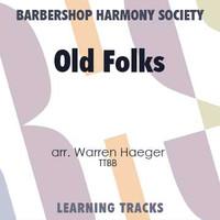 Old Folks (Gm) (TTBB) (arr. Haeger) - Digital Learning Tracks for 8803