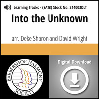 Into the Unknown (SATB) (arr. Sharon & Wright) - Digital Learning Tracks for 214000