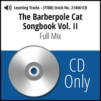 Barberpole Cat Songbook Vol. II (Full Mixes) - CD Learning Tracks for 212677