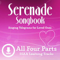 Serenade Songbook (SSAA) Digital Learning Tracks (All 4 Parts) (No Full Mix) for 214100