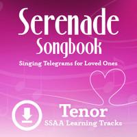 Serenade Songbook (SSAA) (Tenor) - Digital Learning Tracks for 214100