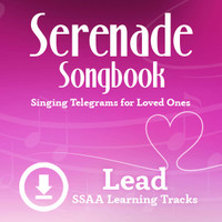 Serenade Songbook (SSAA) (Lead) - Digital Learning Tracks for 214100