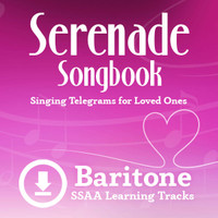 Serenade Songbook (SSAA) (Baritone) - Digital Learning Tracks for 214100