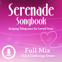 Serenade Songbook - Digital Listening Demo (SSAA) - (FULL MIXES ONLY) for 214100