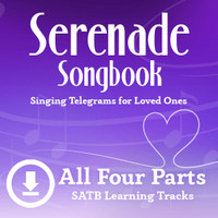 Serenade Songbook (SATB) Digital Learning Tracks (All 4 Parts) (No Full Mix) for 214112