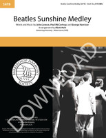 Beatles Sunshine Medley (SATB) (arr. Hale) - Download