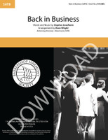 Back In Business (SATB) (arr. Wright) - Download