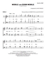Mobile with Down Mobile (TTBB) (arr. Wright) - Download