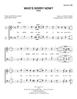 Who's Sorry Now? (TTBB) (arr. Moon) - Download