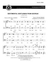 Sentimental Gentleman From Georgia (SSAA) (arr. Waesche) - Download