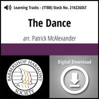 The Dance (TTBB) - arr. Patrick McAlexander - Digital Learning Tracks for 214225