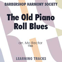 The Old Piano Roll Blues (Gm) (arr. Rector) - CD Learning Tracks for 8808