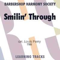 Smilin' Through (Gm) (TTBB) (arr. Perry) - CD Learning Tracks for 8833