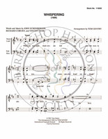 Whispering (TTBB) (arr. Tom Gentry)-UNPUB