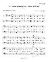 Let There Be Music! Let There Be Love! (SSAA) (arr. Joe Liles)-UNPUB