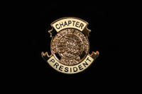 Chapter President Pin