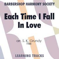 Each Time I Fall In Love (TTBB) (arr. Grundy) - CD Learning Tracks for 7364