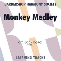 Monkey Medley (FE 98) (TTBB) (arr. Baird) - CD Learning Tracks