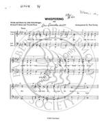 Whispering (SSAA) (arr. Tom Gentry)-UNPUB