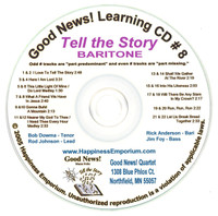 Good News Gospel Learning CD #8 Tell the Story Baritone