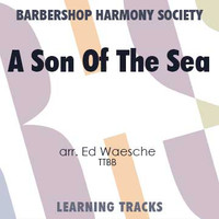 A Son Of The Sea (TTBB) (arr. Waesche) - CD Learning Tracks for 200543