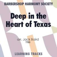 Deep In The Heart Of Texas (TTBB) (arr. Baird) - CD Learning Tracks for 7738