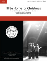 I'll Be Home For Christmas (SSAA) (arr. SPEBSQSA)