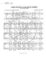 When The Roll Is Called Up Yonder (TTBB) (arr. Joe Liles)-UNPUB