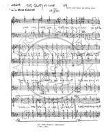 Glory Of Love (TTBB) (arr. Gene Cokeroft)-UNPUB