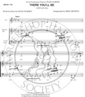There You'll Be (SATB) (arr. Mike Menefee)-UNPUB