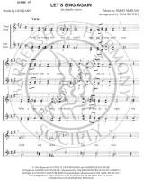 Let's Sing Again Medley (SSAA) (arr. Tom Gentry)-UNPUB