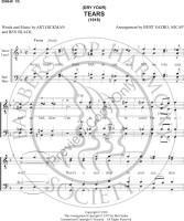 Tears (TTBB) (arr. Burt Szabo)-UNPUB