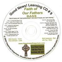 Good News Gospel Learning CD #9 Faith of Our Fathers Bass