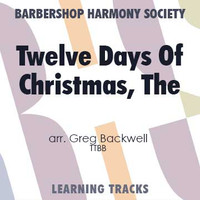 The Twelve Days Of Christmas (TTBB) (arr. Backwell) - CD Learning Tracks for 7702