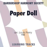 Paper Doll (Gm) (TTBB) (arr. Perry) - CD Learning Tracks for 8811